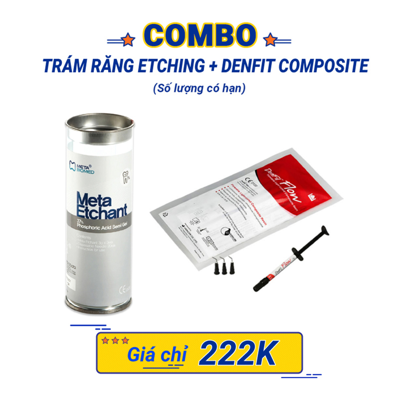 Combo Denfil (etching + Composite) - Combo